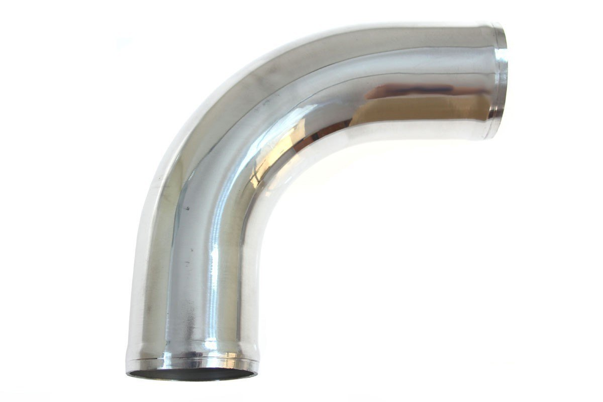 Rura aluminiowa 90st 63mm 30cm - GRUBYGARAGE - Sklep Tuningowy
